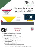 CyberCamp Tecnicas de Ataques Sobre Clientes Wi-Fi