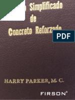 Diseño Simplificado de Concreto Reforzado.