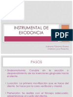 Instrumental de Exodoncia
