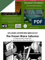 The Frozen Wave Satsuma
