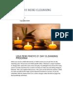 21 Days Reiki Cleansing