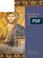 Reading the Epistle to the Hebrews - A Resource for Students - Eric F. Mason and Kevin B. McCruden