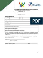 AASM 2010 Final Registration Form