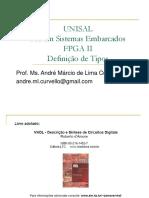 11 - Unisal - Fpga II - Definição de Tipos