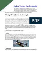 7 Teknologi Modern Terbaru Dan Tercanggih