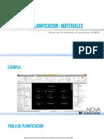 08. Tabla de Planificacion- Materiales