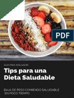 Dieta Baja de Peso Ya