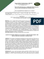 Contração Volumétrica Dos Grãos de Soja (Variedades Ipro) Durante o Processo de Secagem Em Diferentes Temperaturas