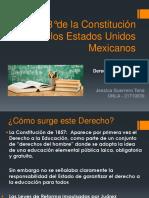 Art 3° - Derecho a la Educacion Mexico