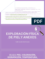 TGFernanda . Exploración física de piel y anexos . 27 07 2017 .pptx