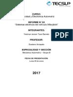 Informe 4 Electricidad Electronica