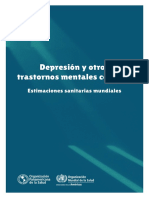 Depresion y Otros Trastornos Mentales Comunes