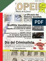 articulo skopein - Graffitis Vandálicos y la Eficiencia de la Pericia Caligráfica en la Detección de Autorías.pdf