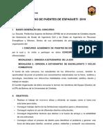 Concurso Puentes Espagueti 2016