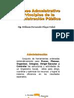 3-Procesos Adm y Principios de La Adm Publica