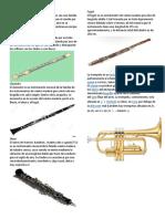 Intrumentos Musicales