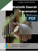 Statistik Daerah Kecamatan Bakam 2016
