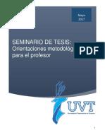Seminario de Tesis Documento Metodologico