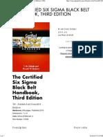 The Certified Six Sigma Black Belt Handbook, Third Edition _ ASQ