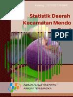 Statistik Daerah Kecamatan Mendo Barat 2016