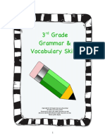 Inspire the Love of Learning 3rd Grade Grammar & Vocabulary Skills
