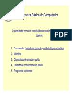 Estrutura Basica Do Computador