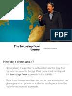 mi-two step flow theory
