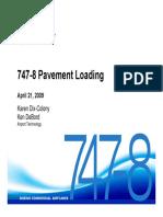 747-8 Pavement Loading 2009