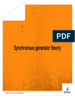 Synchronous Generator Theory