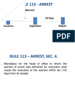FINAL!!!! - Powerpoint Presentation for Rule 113 - Arrest