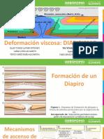 Deformacion Viscosa DIAPIRO