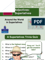 Grammar Rules Superlatives