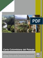 Carta de Paisaje Colombia