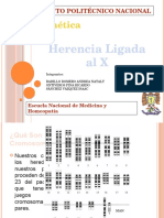 Genetica herencia ligada a X