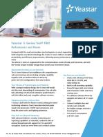 Yeastar S Series VoIP PBX Datasheet En