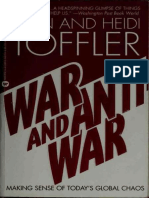 Alvin Tofler - War and Anti-War