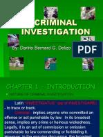 Criminal Investigation Review