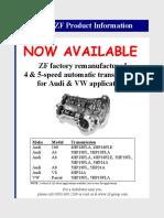 Zf Audi Program