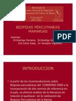 Consenso 2009 Biopsias Mamas