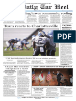 The Daily Tar Heel for August 30, 2017