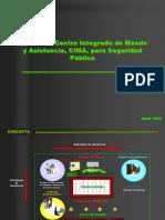 Modelo de Centro Integrado de Mando y Asistencia - CIMA
