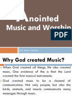 Anointed Music and Worship Chapter 1