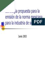 Estrategia Propuesta Para La Emisión de La Norma Mexicana Para La Industria de Software