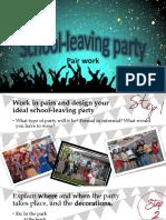 School-leaving Party Oral Presentation