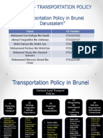 Brunei Policy