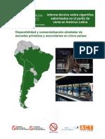 Informe técnico sobre cigarrillos saborizados en Latinoamérica