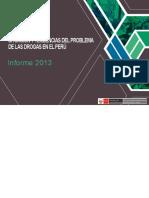 DEVIDA Situación y Tendencias Del Problema de Las Drogas en El Perú 2013