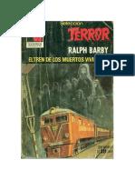 Barby Ralph - Seleccion Terror 419 - El Tren de Los Muertos Viv