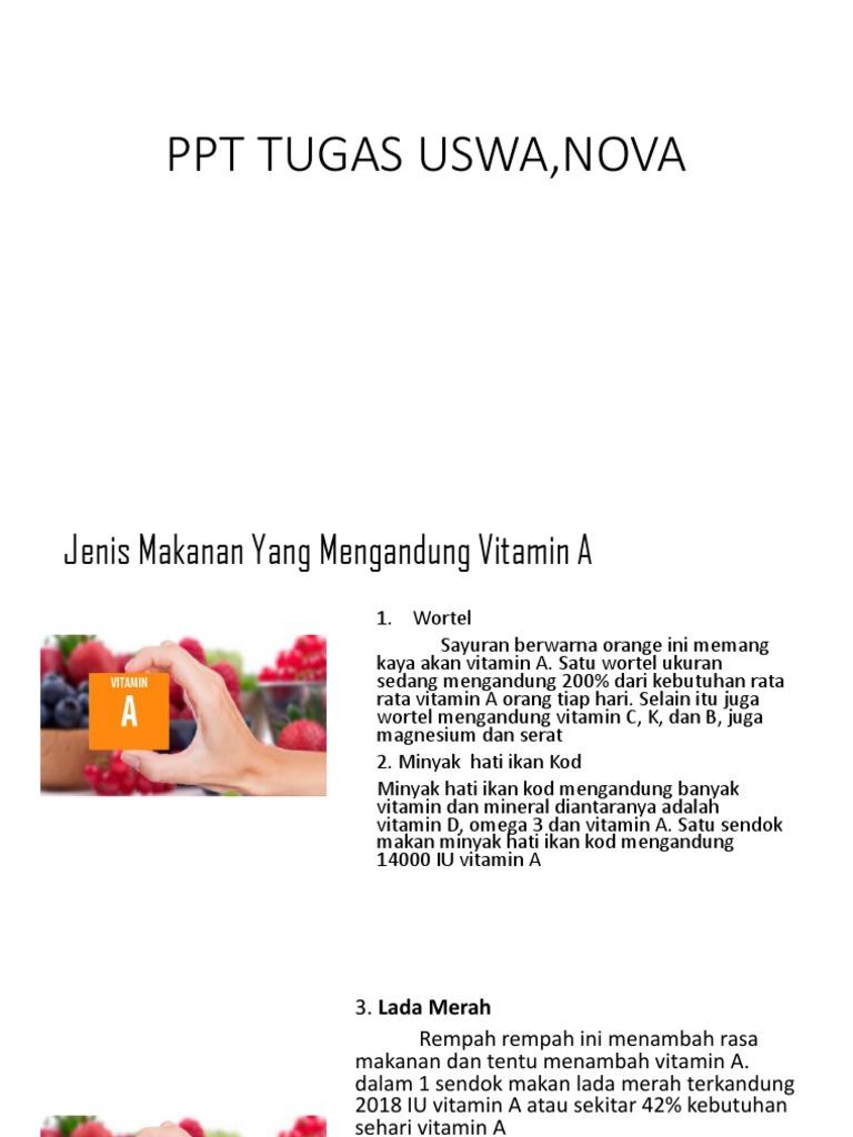 Ppt Tugas Uswaaaa Nova