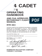 R44 CADET Flight Manual